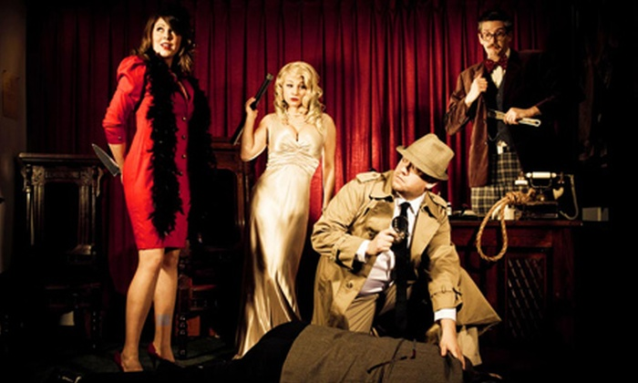 The Murder Mystery Company - Hosford - Abernethy: Dinner Show for One or Two from The Murder Mystery Company (52% Off)