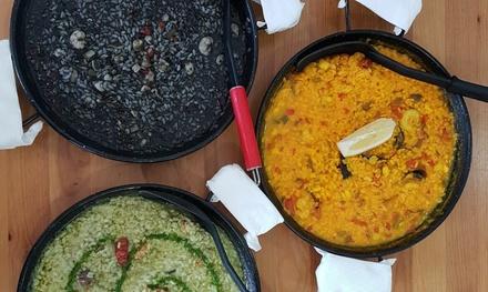 Menú de arroz para 2 o 4 personas desde 24,95 € en La Escollera del Alcazar (Club náutico)