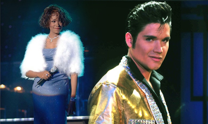 Legends in Concert - Mashantucket: Legends in Concert at The Fox Theater at Foxwoods Resort Casino in Mashantucket (Up to $38.85 Value)