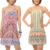 Women's Printed Double Spaghetti-Strap Dress