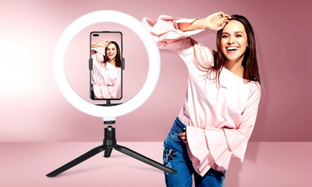 From $24 for a LED Ring Light with Adjustable Brightness (Don't Pay up to $249.99)