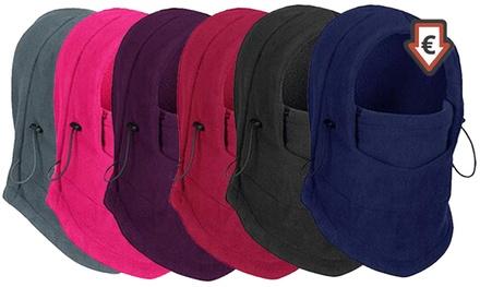 Fleece-Kapuze in verschiedenen Farben