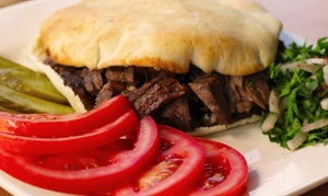 Zaatar: Lebanese Food for Two or Four at Zaatar (40% Off)