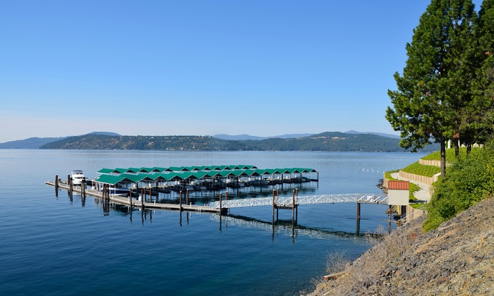 Historic 4-Star Hotel near Lake Coeur d'Alene