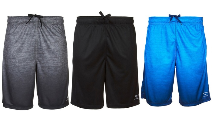 70% off Cheetah Men's Ombre Print 2-Pocket Active Performance Shorts