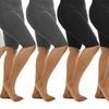 Women's Plus-Size Seamless Capri Shorts (10-Pack)