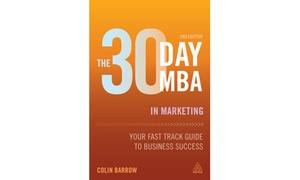 Shaw Academy e-Books: 30-Day MBA in Marketing by Colin Barrow for R259 with Shaw Academy (20% Off)