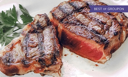 Argentinian Steak Dinner with Wine for up to Four at El Gaucho (Up to 44% Off)