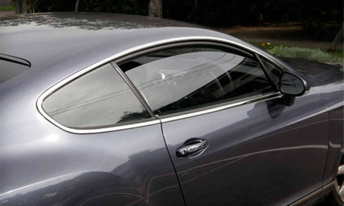 Made in the Shade - Mesa: Tinting on Two or Five Car, Truck, or SUV Windows at Made In The Shade (51% Off)