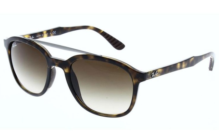 612cf9b23cd Ray-Ban RB4290-710 Square Sunglasses with Brown Gradient Lenses ...