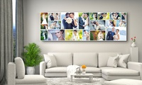 Panorama Collage Canvas Print in Choice of Size from AED 169 (Up to 72% Off)