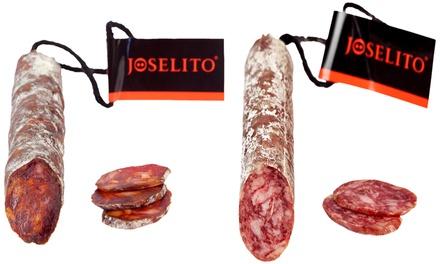 Chorizo y Salchichón Vela Joselito 250gr