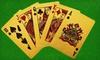 24-Karat-Gold Playing Cards: 24-Karat-Gold Playing Cards. Free Returns.