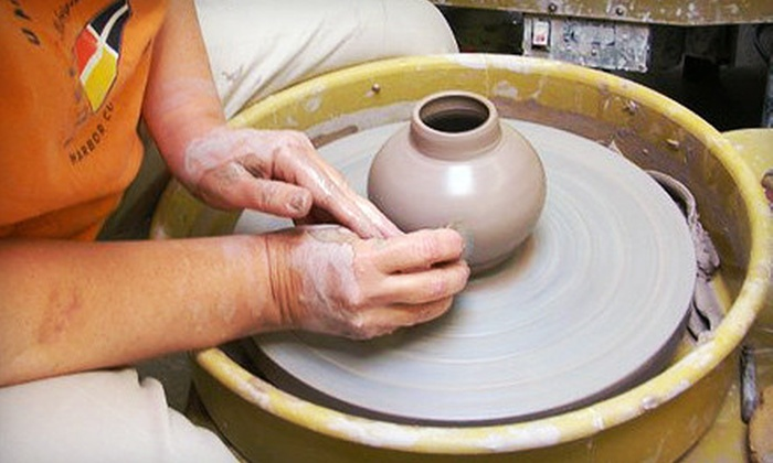 Terra Incognito - Oak Park: 90-Minute Intro to Wheel-Throwing Pottery Class for One, Two, or Four at Terra Incognito (Up to 56% Off)