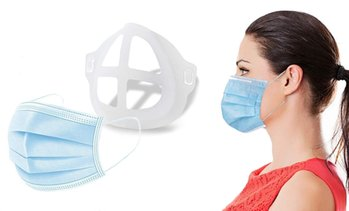 3D Silicone Mask Holder