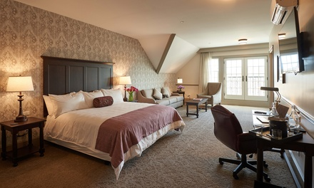 Stay at The Groton Inn in Massachusetts. Dates into December.