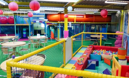 image for Soft Play Entry for Two to Fun Zone (Up to 61% Off)
