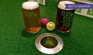 Flatstick Pub: Beer and Mini Golf for Two or Four at Flatstick Pub in Kirkland (Up to 43% Off)