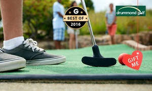 West Beach Driving Range Drummond Golf: $7 for an 18-Hole Game of Mini Golf for a Family of Four at West Beach Driving Range Drummond Golf ($16 Value)