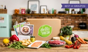 HelloFresh Australia: From $35 for a Box of Cook-at-Home Meals for Two People from HelloFresh Australia, Delivered (From $64.95 Value)