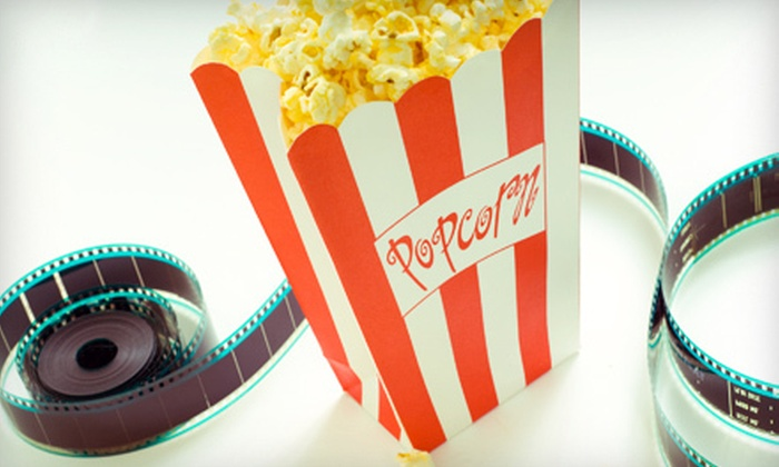 Dixie Twin Drive-In - Harrison: Movie for Two or Four with Popcorn at Dixie Twin Drive-In (Up to 54% Off)