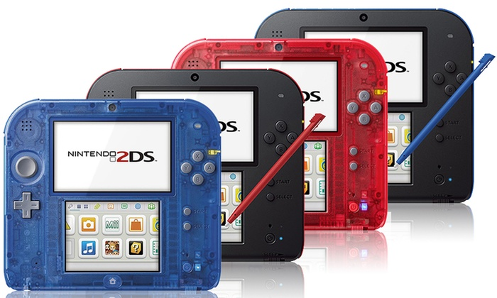 Nintendo 2DS Dual-Screen Handheld System with Stylus (Refurbished)