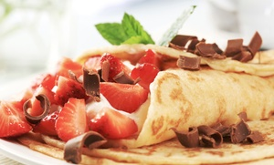 Aloha Crepes: Crepes or Shaved Ice at Aloha Crepes (Up to 57% Off). Two Options Available.
