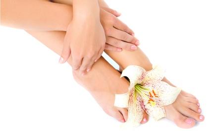 3 manicure e 3 pedicure con smalto a scelta
