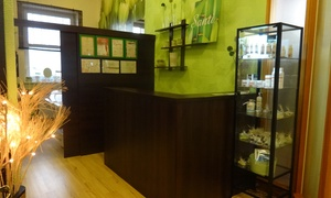 Studio Zdrowia i Urody Santi: Masaż leczniczy na łóżku nefrytowym z muzykoterapią: 5 zabiegów za 69,99 zł i więcej w Studiu Zdrowia i Urody Santi
