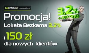BGŻ OPTIMA: 5 zł: otwarcie Konta Indywidualnego BGŻ Optima i Lokaty Bezkarnej oraz 150 zł do wydania na portalu Groupon.pl