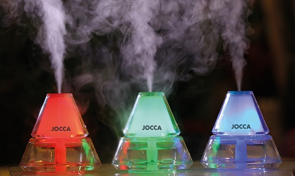 Jocca Aroma Diffuser and Humidifier with LED Light