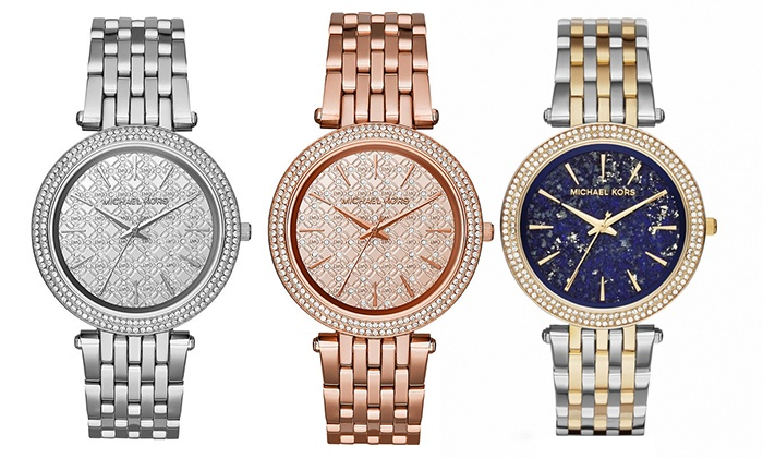 ace008bfcc5f75 Michael Kors Damen-Uhr | Groupon Goods