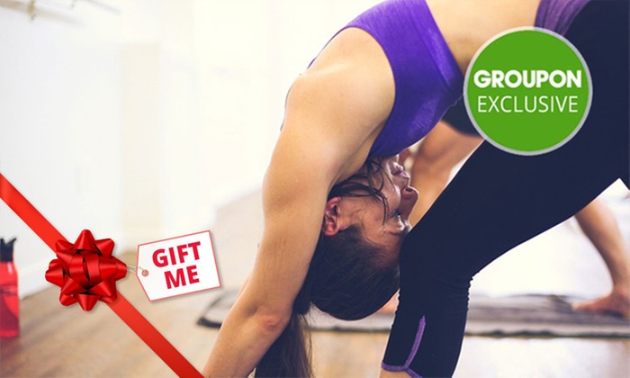 Sweat Yoga - Newmarket: 1 Month of Unlimited Hot Yoga & Pilates Classes for 1 ($39), 2 ($75) or 4 People ($145) at Sweat Yoga(Up to $660 Value)