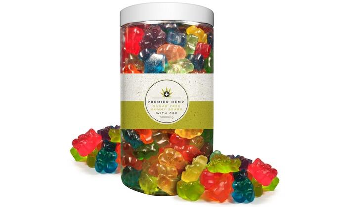 Up To 60% Off on Sugar-Free CBD Gummy Bears | Groupon Goods