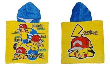Pokemon Hooded Towel Poncho