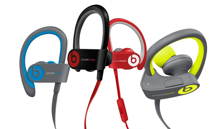 Beats by Dre Powerbeats 2 Wireless In-Ear Headphones (Refurbished)
