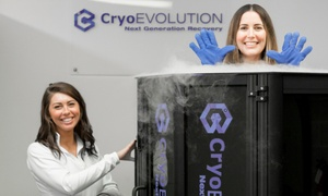 Up to 58% Off Whole-Body Cryotherapy Sessions at CryoEvolution at CryoEvolution, plus 6.0% Cash Back from Ebates.