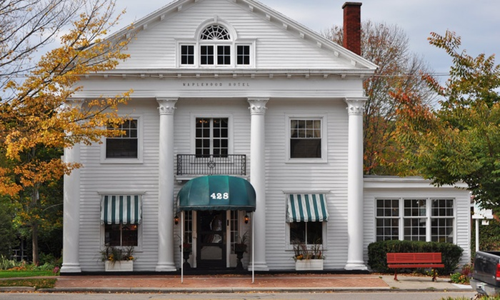 Maplewood Hotel - Saugatuck, MI: 1- or 2-Night Stay for Two at Maplewood Hotel in Saugatuck, MI. Combine Up to 4 Nights.