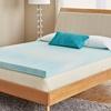 Comfort Philosophy 3'' Gel CoolFlow Memory Foam Mattress Topper