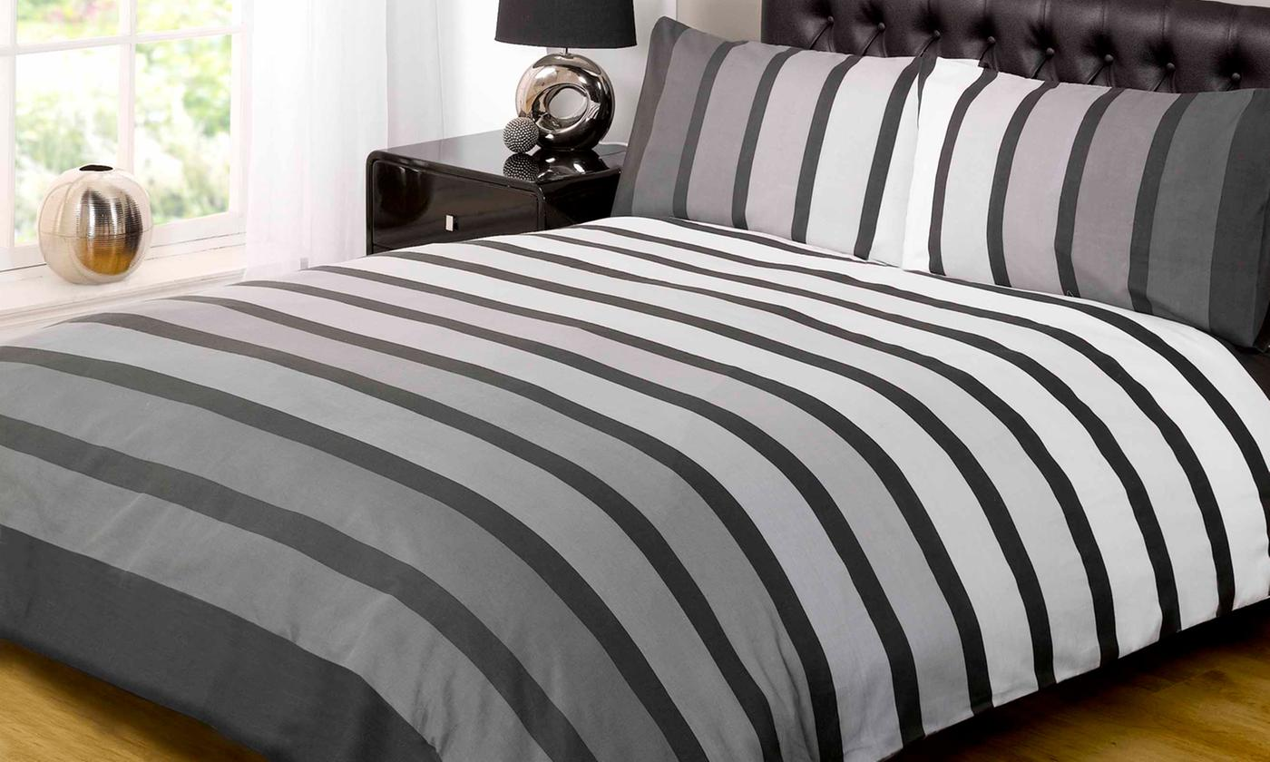 Rapport Home Soho Duvet Set in Choice of Size and Colour for £8.99