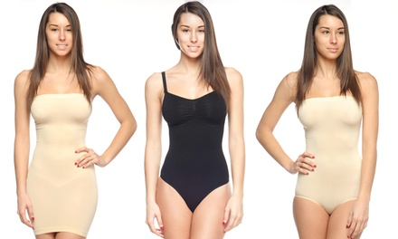 Body Beautiful Bodysuit Shapers and Slip