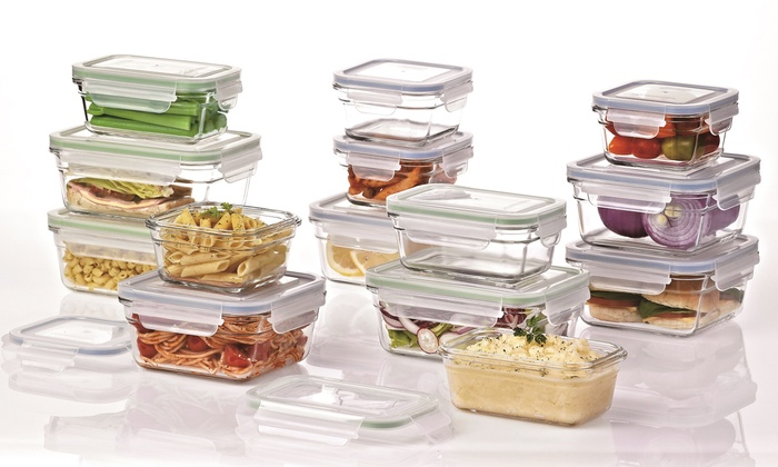 Glasslock Food Storage Container Sets Magnificent Up To 60% Off On Glasslock Food Storage Sets Groupon Goods