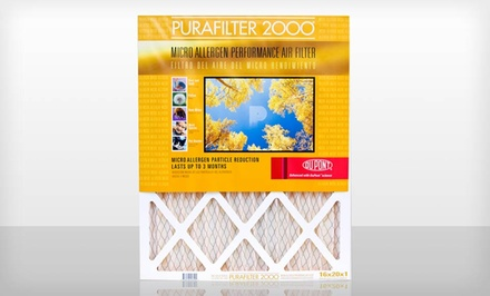 4-Pack of Purafilter Gold High-Efficiency Air Filters. Multiple Sizes. Free Returns.