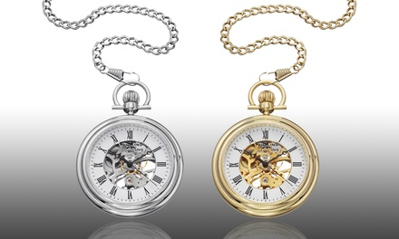 Stührling Original Stainless Steel Pocket Watches