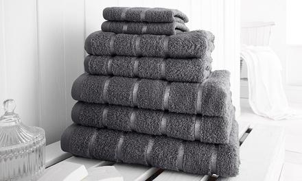 Elizabeth Jayne SevenPiece 500gsm Egyptian Cotton Towel Bale