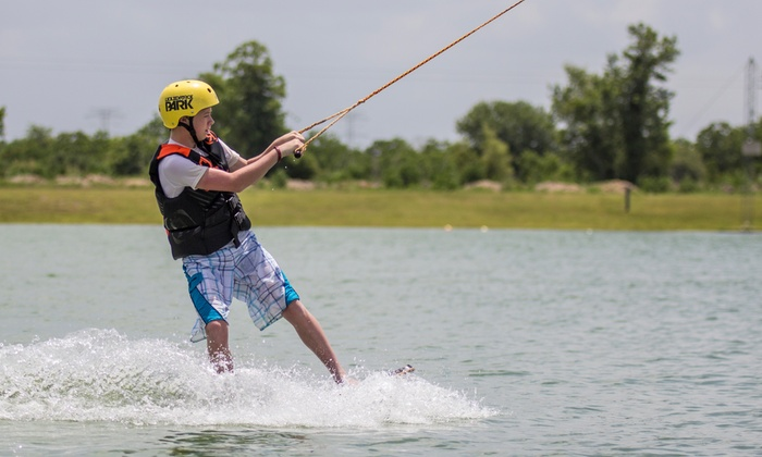 Wake Nation Houston - Alvin-Pearland: Two Hours or a Full Day of Watersports Riding with Rental Equipment at Wake Nation Houston (Up to 57% Off)