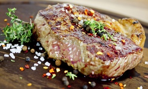 O'Brien's Steakhouse: Lunch or Dinner at O'Brien's Steakhouse (Up to 54% Off). Three Options Available.
