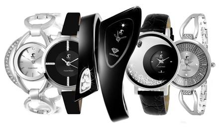 Relojes Sc Crystal Paris decorados con diamantes y/o cristales Swarovski®