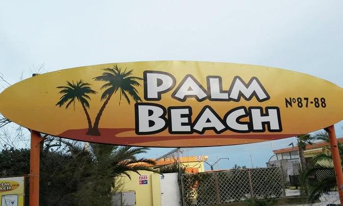 Bagno palm beach a pinarella di cervia ravenna groupon - Bagno palm beach pinarella ...