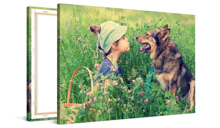 "One 12""x8"" Canvas Print, or One or Two 16""x12"" or 20""x16"" Canvas Prints from CanvasOnSale (Up to 85% Off)"
